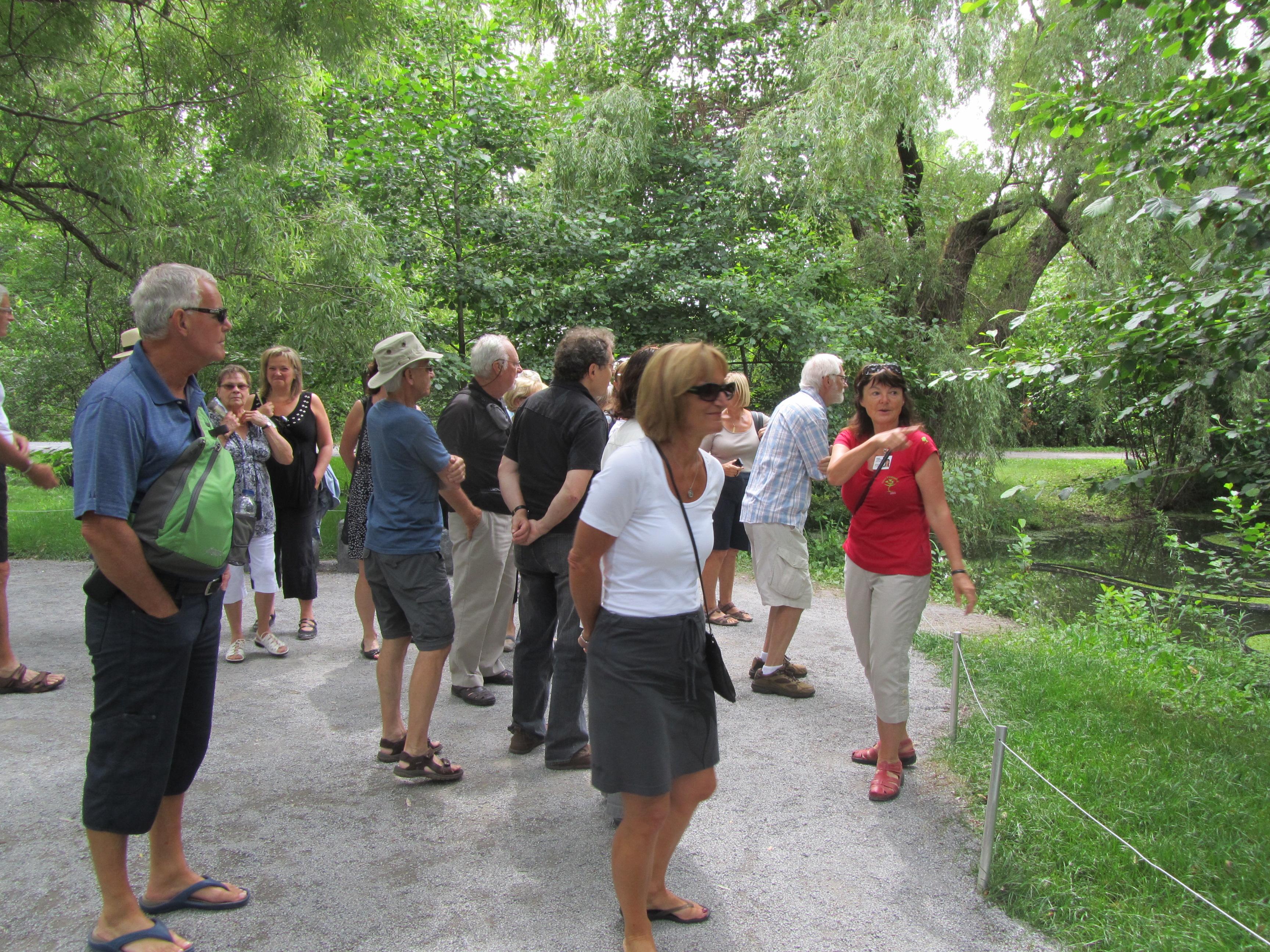 Les guides b n voles une richesse au jardin botanique for Planificateur jardin