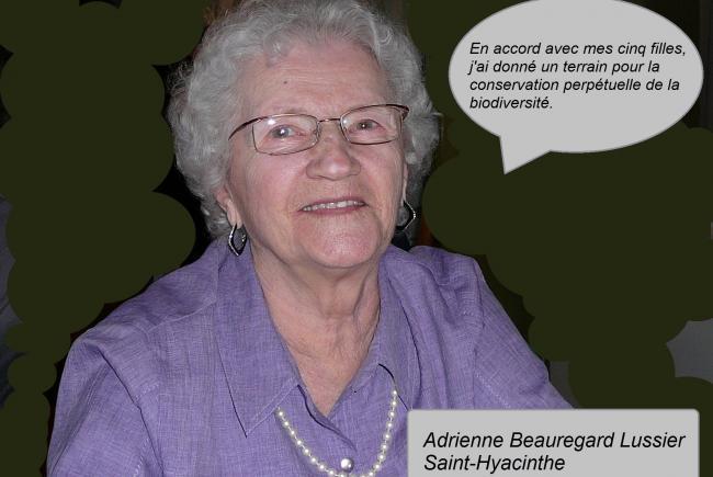 Adrienne est la fière doyenne de notre mouvement des ambassadeurs © Céline Lussier Cadieux