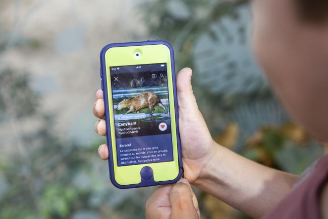 Espace pour la vie Mobile application