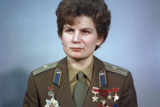 Valentina Terechkova en janvier 1969.