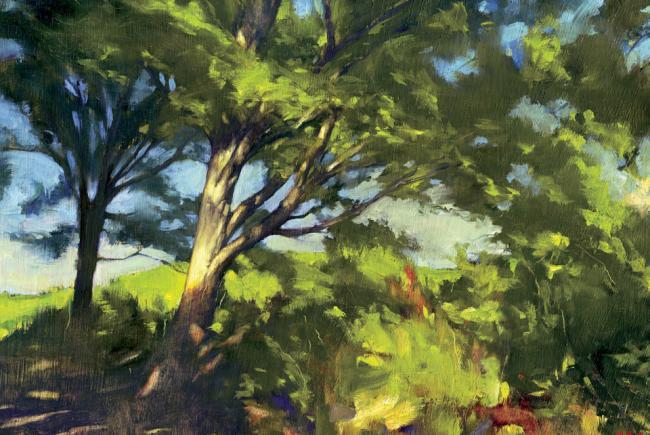 Peinture d'Alain Massicotte