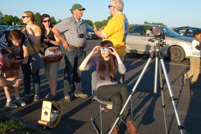 Observation of the transit of Venus in June 2012