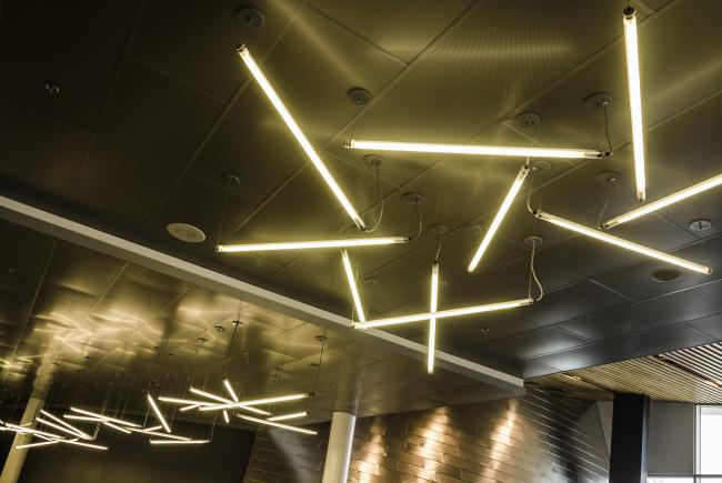 Éclairage au Planétarium Rio Tinto Alcan © Espace pour la vie