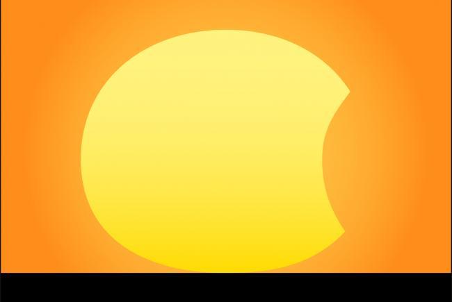 Un coucher de soleil partiellement clips blogue - Coucher de soleil montreal ...