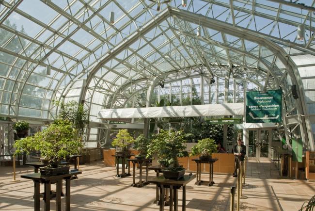 Exposition complexe d'accueil du Jardin botanique de Montréal (2009)