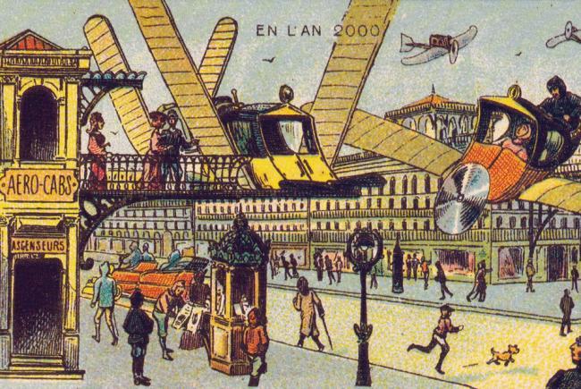 L'an 2000 imaginé par Jean-Marc Côté en 1899