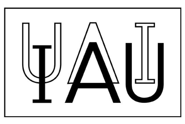 Logo de l'Union astronomique internationale