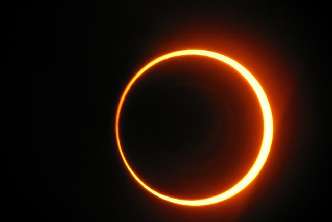 Éclipse annulaire