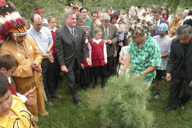 Inauguration du Jardin des Premières-Nations