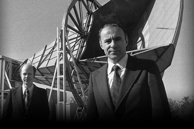 Arno A. Penzias and Robert W. Wilson