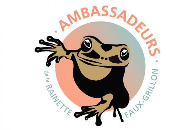 Logo du programme Ambassadeurs de la rainette faux-grillon