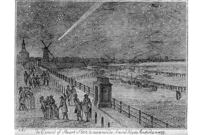 La grande comète de 1769 découverte par Messier