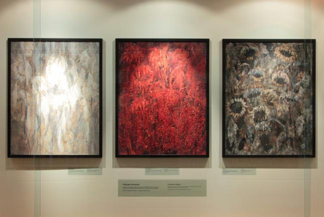 Hiroshima triptych by Kenzo Kamei