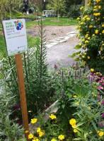 Panneau Mon jardin Espace pour la vie © Espace pour la vie