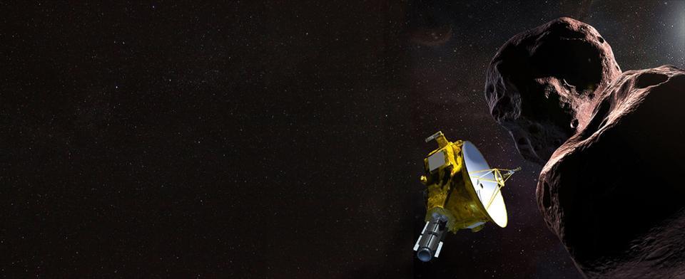 New Horizons explore les confins du système solaire