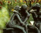 Le Banc des amoureux, oeuvre de Léa Vivot - Crédit photo : Jardin botanique de Montréal, Michel Tremblay