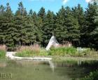 Jardin des Premières-Nations en été © Jardin botanique de Montréal (Michel Tremblay)