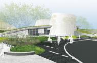 Illustration du futur Planétarium Rio Tinto Alcan © Fauteux et Associés - Architectes paysagistes