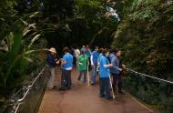 Visite au Biodôme avec des élèves non-voyants