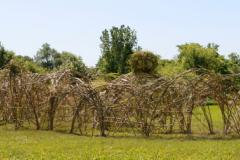 Monumental Dougherty – préparation du site pour l'œuvre collective