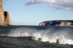 La mer c'est le vent, le froid qui fouette les sens.