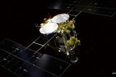 Vue d'artiste de la sonde Hayabusa 2