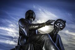 Copernic status before the Planétarium Rio Tinto Alcan