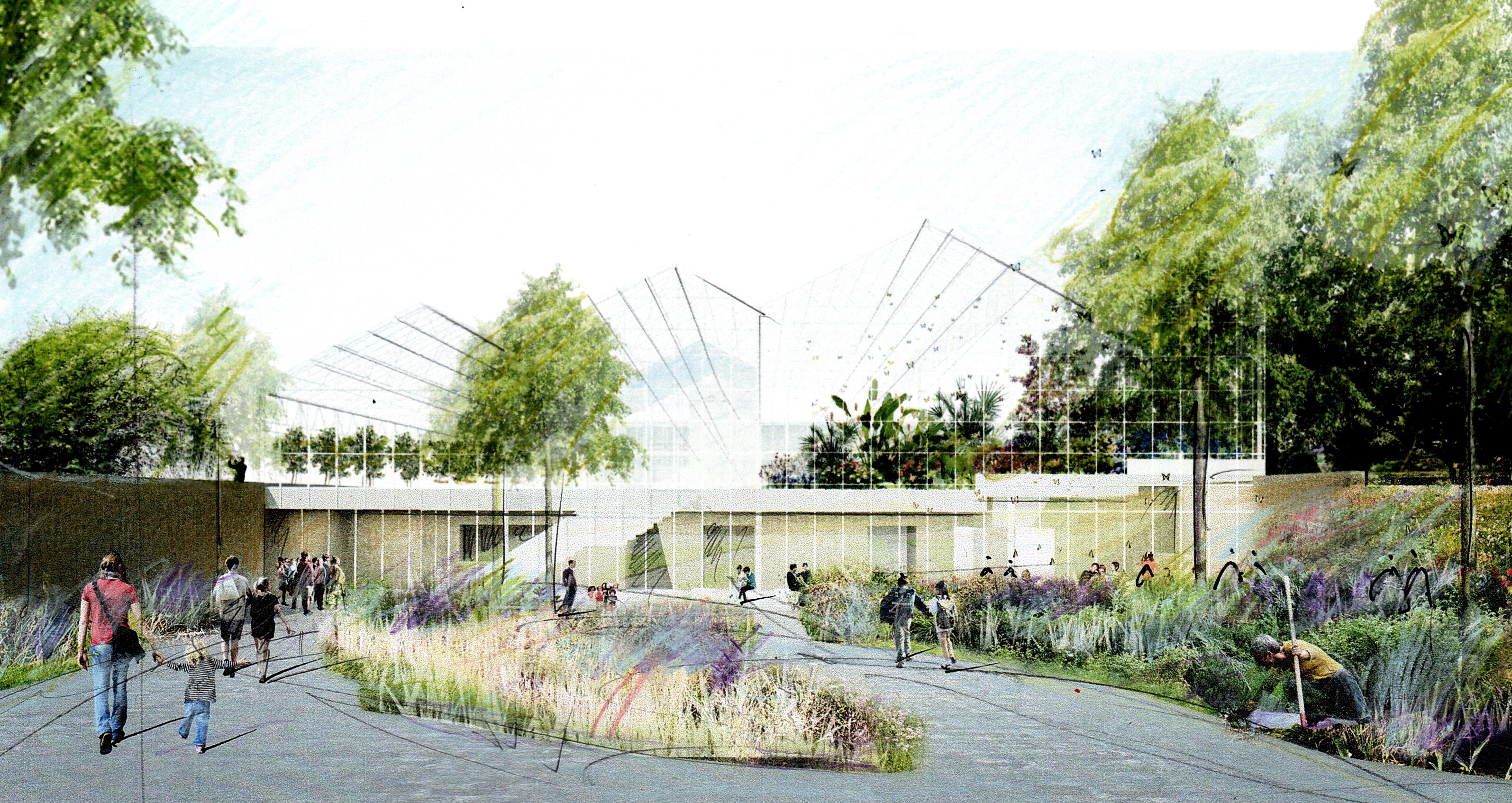 La m tamorphose de l 39 insectarium espace pour la vie - Jardin botanique de montreal heures d ouverture ...