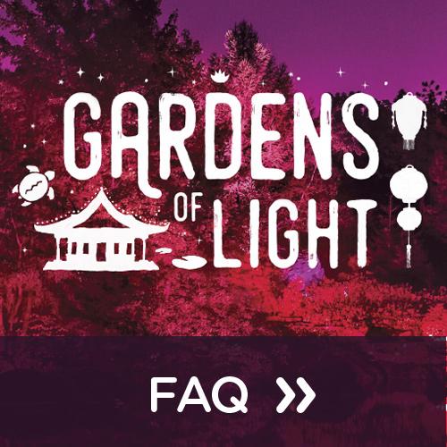 FAQ Gardens of Light 2018