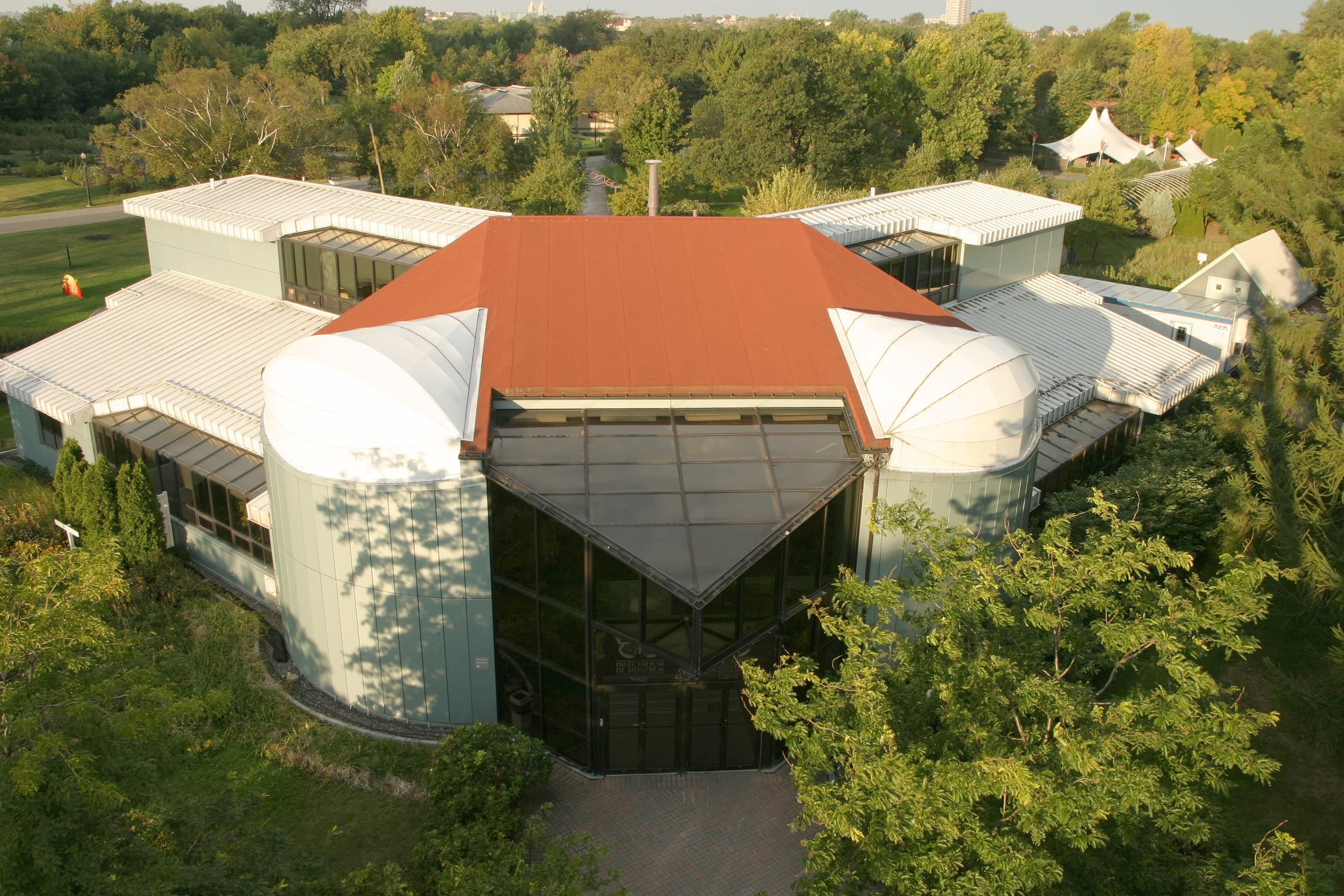 Insectarium space for life for Biodome insectarium jardin botanique