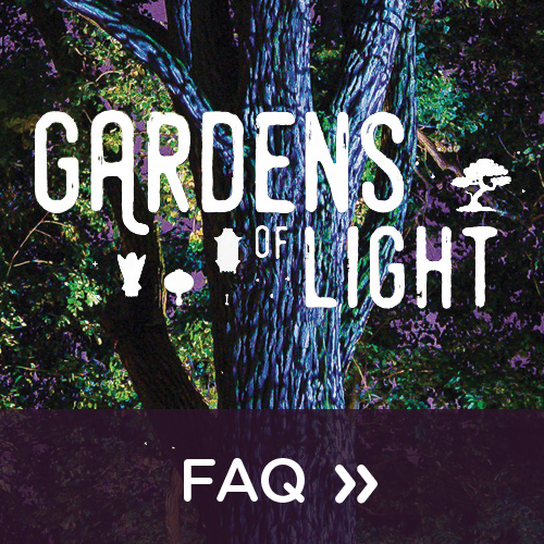 FAQ Gardens of Light 2019