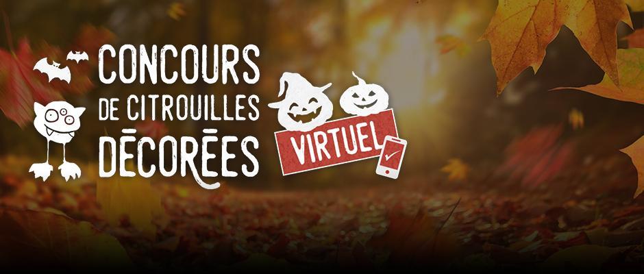 Concours de citrouilles décorées virtuel 2021 - carrousel