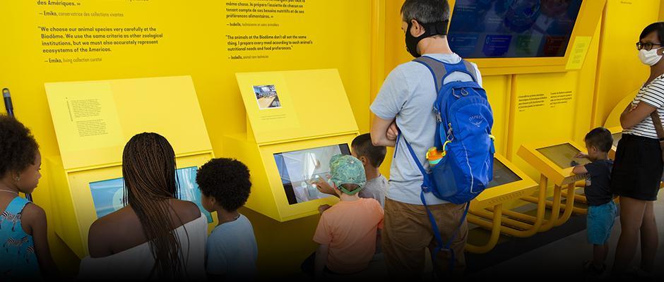 Expositions à voir au Biodôme - carrousel