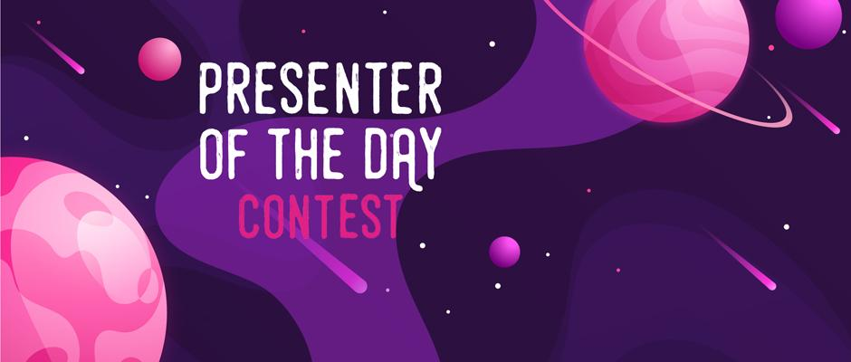 Carrousel - Presenter of the Day Contest
