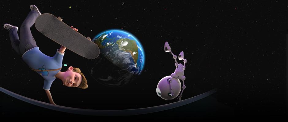 Les secrets de la gravité - carrousel