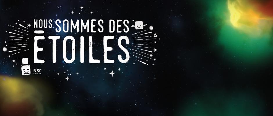 Bandeau - Nous sommes des étoiles
