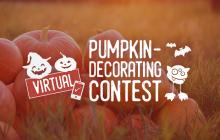 Virtual Pumpkin-decorating Contest