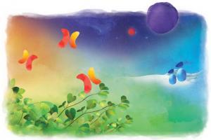 Aquarelle - Espace pour la vie
