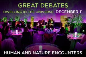 Coming soon: Great debates - Dwelling on the universe