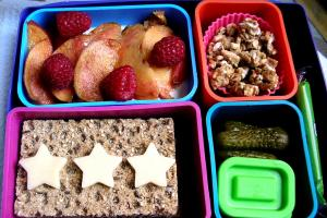 Zero-waste lunch box.