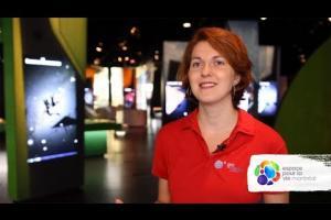 The job of a Science Guide at the Planétarium Rio Tinto Alcan
