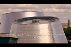 Les artisans du Planétarium Rio Tinto Alcan - L'Architecture du bâtiment