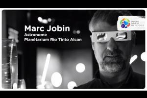 Portrait of an astronomer at the Planétarium Rio Tinto Alcan