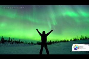 What's an aurora borealis?