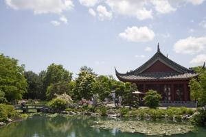 Le Pavillon de l'amitié du Jardin de Chine.