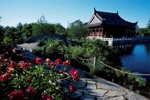 L ments du jardin de chine espace pour la vie for Conception jardin chinois
