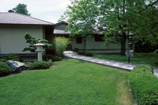 Pavillon culturel du Jardin japonais