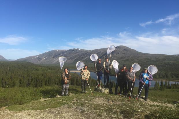 Été 2018, jeunes Inuits Parc national Kuururjuaq