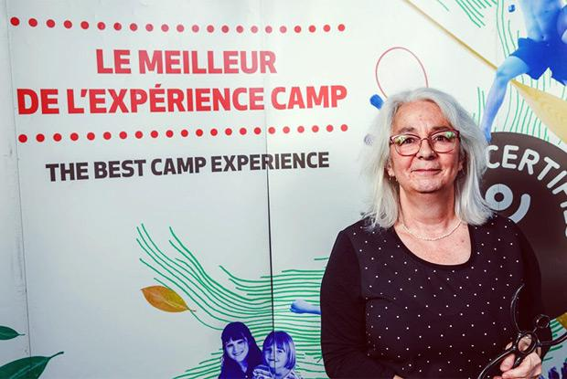 Violène Simard receives 2019 Hommage Award from Association des camps du Québec