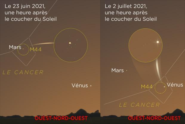 20210623-0702 Mars et Vénus rencontrent M44